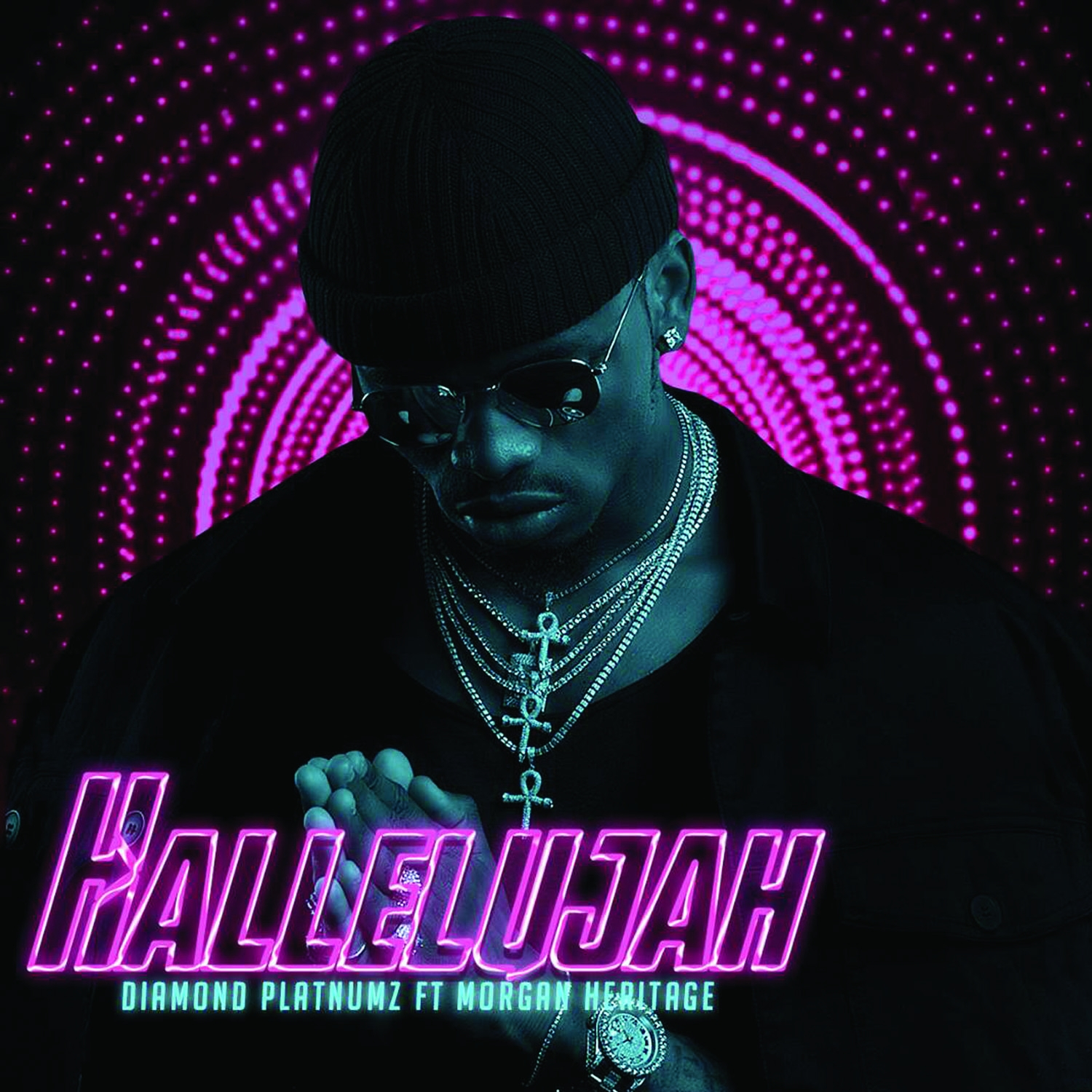 Diamond Platnumz feat Morgan Heritage - Hallelujah - Artwork