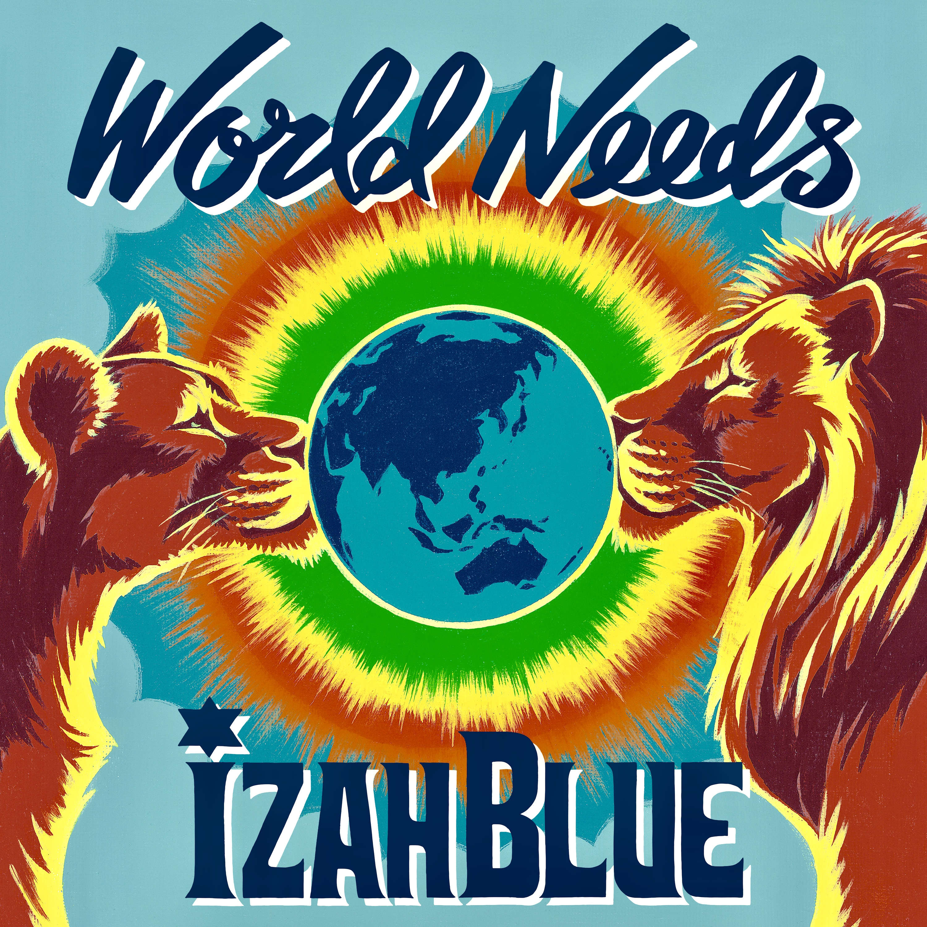 World Needs  Izah Blue