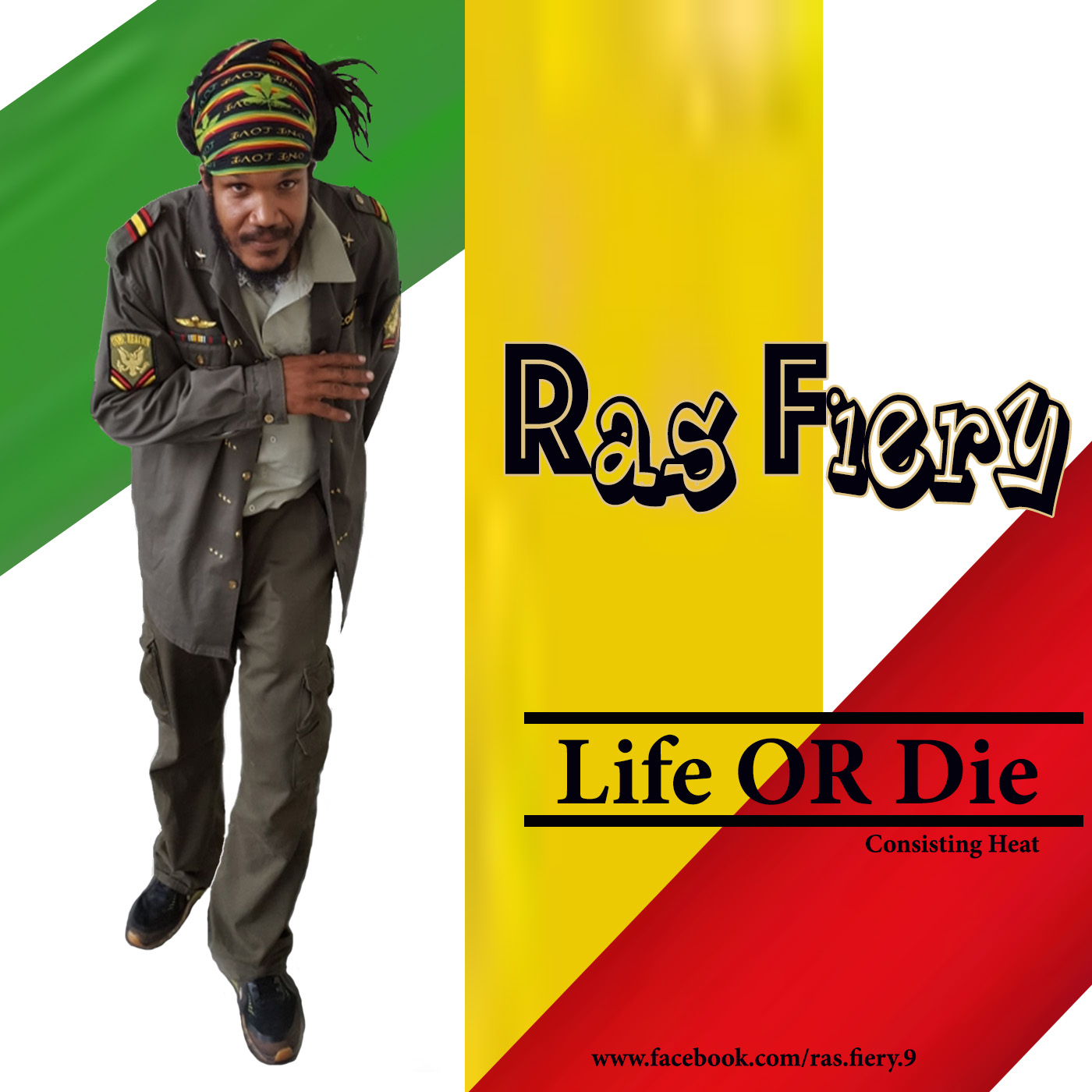 Ras Fiery- Life Or Die