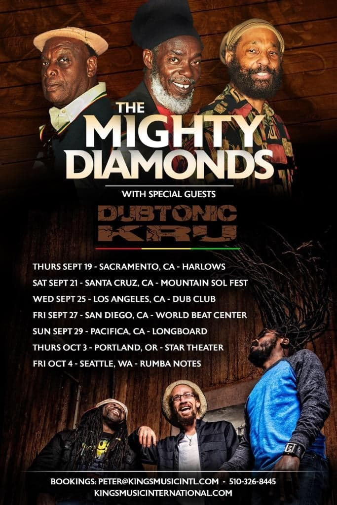 The Mighty Diamonds w/Dubtonic KRU