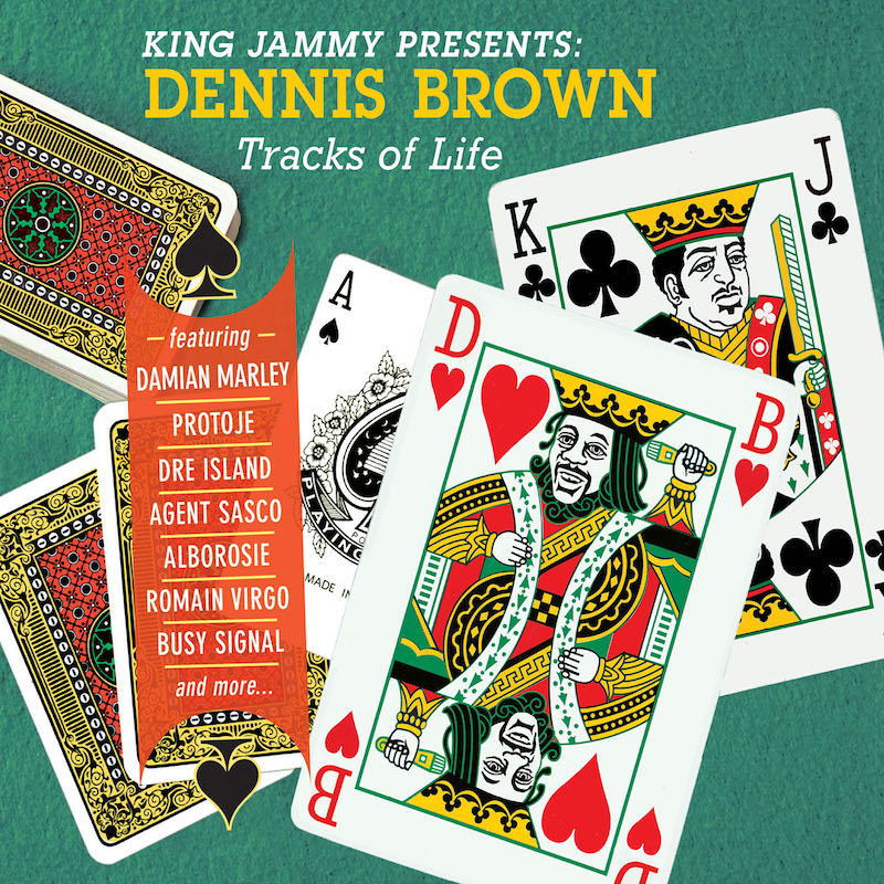 King Jammy Presents Dennis Brown-Tracks Of Live