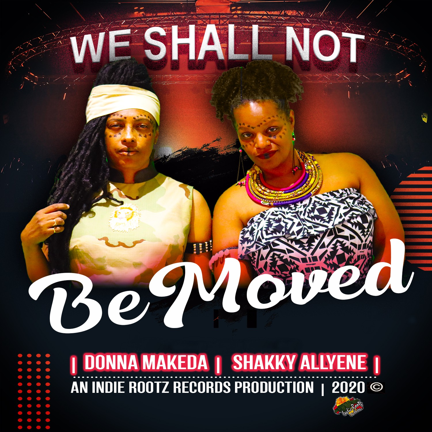 Donna Makeda & Shakky Alleyne - We Shall Not Be Moved _ 2